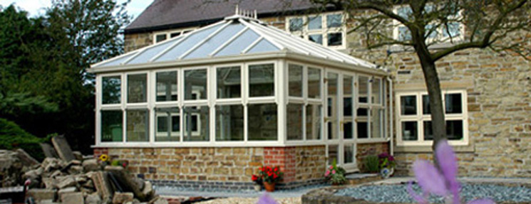 photo of new conservatory