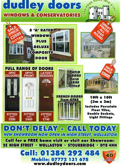 Dudley Doors latest special offers