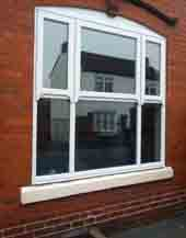 photo of fitted UPVC window